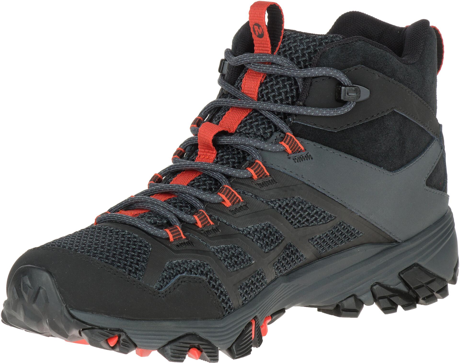 Merrell Moab FST 2 GTX Chaussures Homme, blackgranite sur